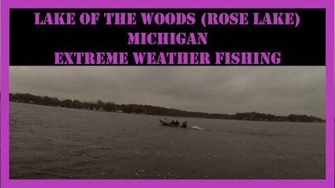Lake Of The Woods (Rose Lake) Michigan Fishing