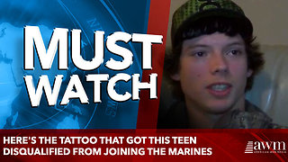 Here's The Tattoo That Got This Teen Disqualified From Joining The Marines - Video