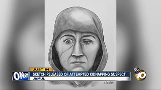 Sheriff's Department releases sketch of attempted kidnapper - Video