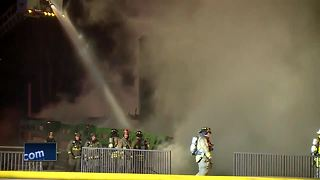 Wilderness Lodge building catches fire