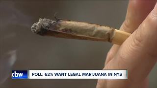 62% of New Yorkers want legal marijuana, poll shows - Video