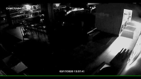 Security camera captures driver crashing car into The Boardroom in Littleton, allegedly burglarizing the restaurant and leaving the scene