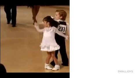 Dancers Fill Up The Floor, Buts Then Little Dancers Step On Stage And Completely Steal The Show