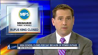 Power outage sends Rufus King students home - Video