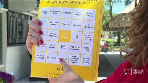 Tampa Bay restaurants launch Takeout Bingo to encourage dining local during COVID-19