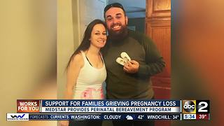 MedStar Hospital helps grieving families cope with pregnancy loss - Video