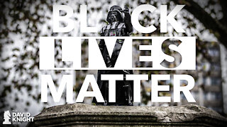 Darth Vader Statue: Because Black Lives & Vaccines Matter