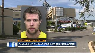Tampa PD: Pharmacist drugged, assaulted woman - Video