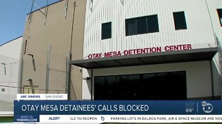 Activists claim unjust ICE censorship after Otay Mesa detainees' calls get blocked