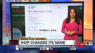 IHOP changing name to IHOB - Video