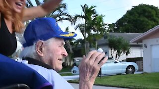South Florida veteran celebrates 100th birthday