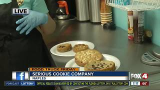 Food truck Friday: Serious Cookie Company 7:15AM - Video