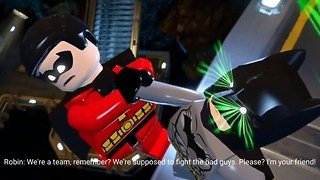 LEGO Batman VS Robin gameplay #1 - Funny LEGO Kid Games - Video