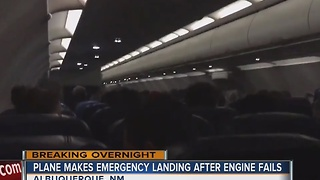 Plane makes emergency landing after engine fails mid-air