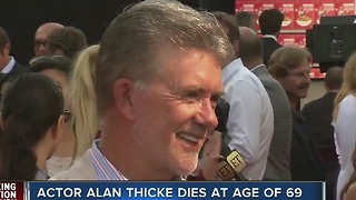 Actor Alan Thicke dies at age of 69 - Video