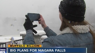 BUFFALO BILLION PLANS FOR NIAGARA FALLS - Video