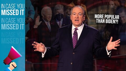 The Inauguration CLEANER Who's More Popular Than Biden | ICYMI | Huckabee