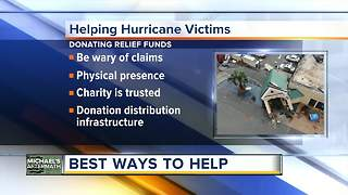 How to help the victims of Hurricane Michael - Video