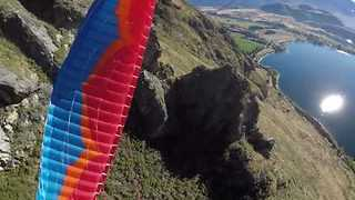 Daring Skydivers Do Full Rotations Through New Zealand Countryside - Video