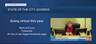 Mayor Goodman gives virtual State Of The City Address tomorrow