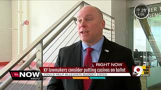 Kentucky lawmakers consider putting casinos on ballot - Video