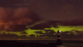 Timelapse Shows Aurora Over Welsh Island of Anglesey - Video