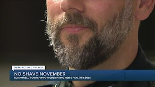 Local police raising awareness on men's health issues during No Shave November