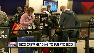 TECO workers heading to Puerto Rico to help restore power - Video