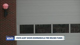 """State audit shows Bowmansville Volunteer Fire Association """"misused"""" funds"""