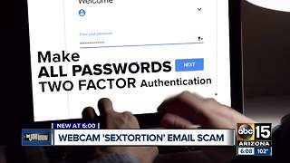 """""""Sextortion"""" email scam hitting the Valley"""