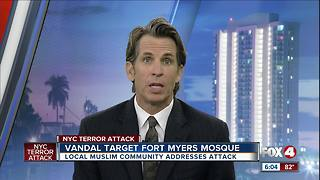 Vandals Target Fort Myers Mosque - Video