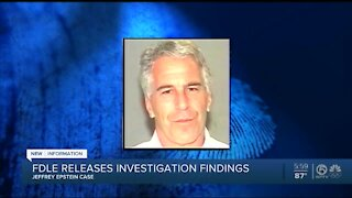 FDLE investigation finds no wrongdoing by PBSO, State Attorney's Office in Jeffrey Epstein plea deal