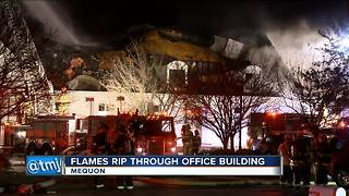 Fire severely damages Mequon manufacturing plant - Video