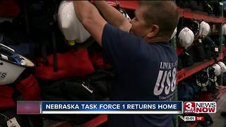 Nebraska Task Force 1 returns home - Video