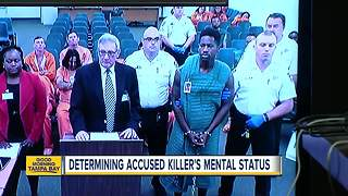 Accused Seminole Heights killer to undergo mental evaluation - Video