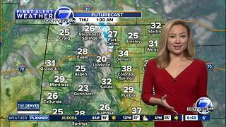 Denver will be cold early, then much warmer Wednesday afternoon - Video