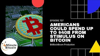 Americans Could Spend Up To $40B From Stimulus On Bitcoin