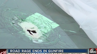 Bullet fired through windshield during road rage incident in Holiday - Video