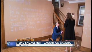 Milwaukee man pulls perfect marriage proposal - Video