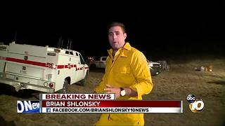 Brush fire grows to more than 1,200 acres - Video