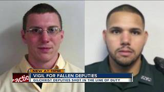 Vigil held for fallen Florida deputies - Video