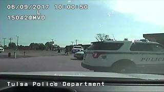 TPD releases dashcam video of fatal oficer-involved shooting - Video