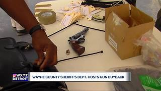 Sheriff's Office hosts gun buyback program - Video
