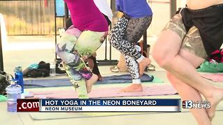 hot yoga in the boneyard - Video