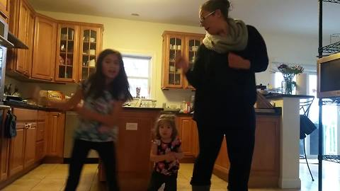 Mom And Daughters' Carlton Dance