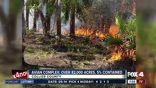 Avian Complex Fire now over 82,000 acres - Video