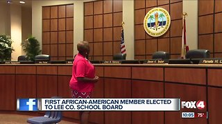 First black school board member elected in Lee County - Video
