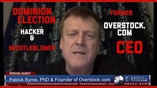 2020 Election Fraud Exposed By Whistleblower Patrick Byrnes   Dominion Hacked: BREAKING