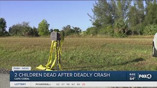 Two children dead after crash in Cape Coral