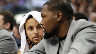 Steph Curry MAD at Kevin Durant for Dissing Under Armour - Video